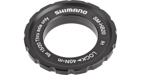 Shimano SM-HB20 centerlock ring til nav med stikakse sort